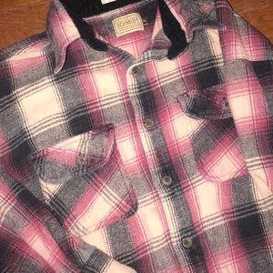 Plaid Flannel Button Down